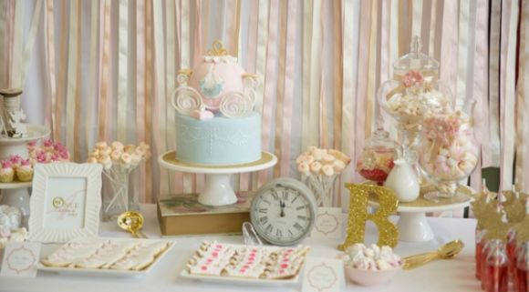 Pastel Cinderella 4th Birthday Party - Bella Paris Designs