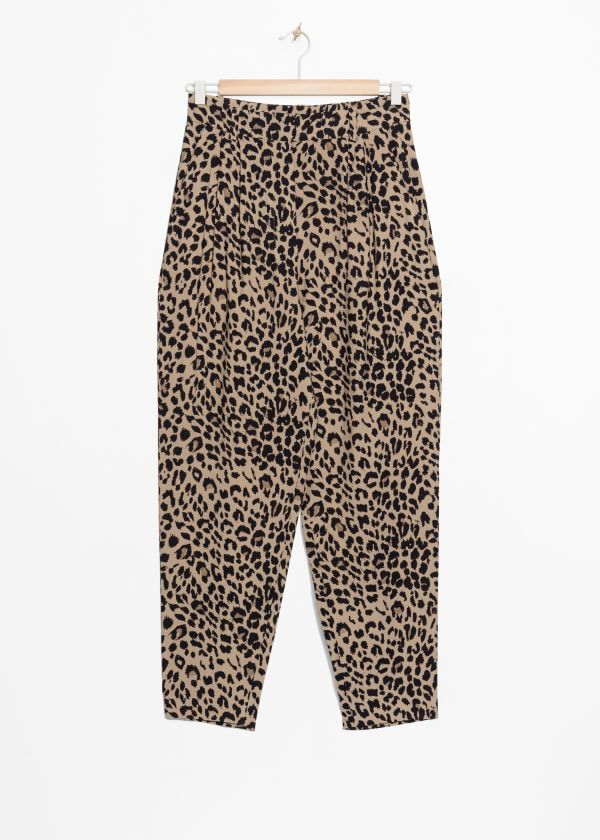 03dda49aaa68 Trousers - & Other Stories ES. Trousers - & Other Stories ES Wrap Blouse, Print  Wrap, Leopard ...
