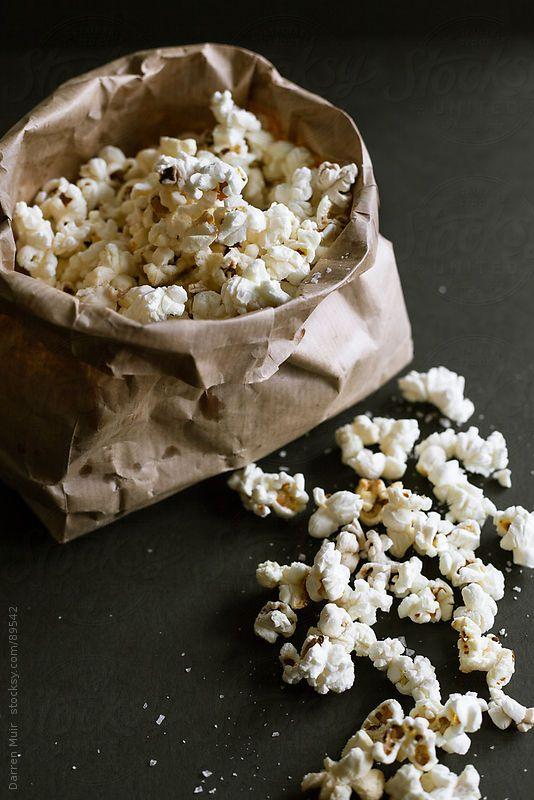 Popcorn in a bag. by Darren Muir
