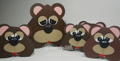 Punch art bears