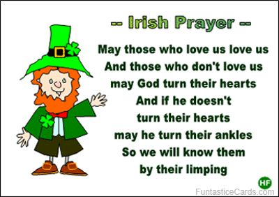Leprechaun cartoon pics and quotes facebook page | ... card has pic of cheeky leprechaun with important piece of irish advice