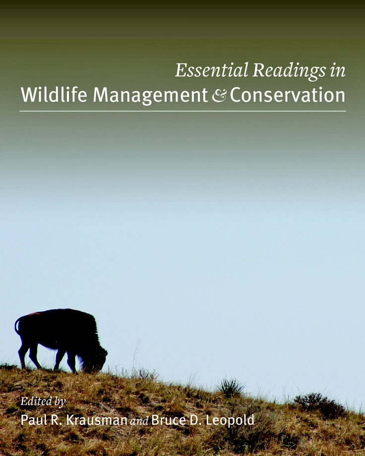 Essential Readings in Wildlife Management and Conservation | The Wildlife Society