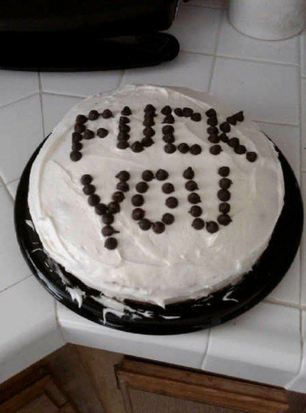 Best Very Rude Cakes Images On Pinterest Breakfast Candies - 18 savage cakes that get straight to the point