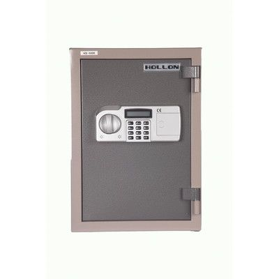 "Hollon Safe 2 Hr Fireproof Home Safe Size: 19.75"", Lock Type: Electronic Lock"