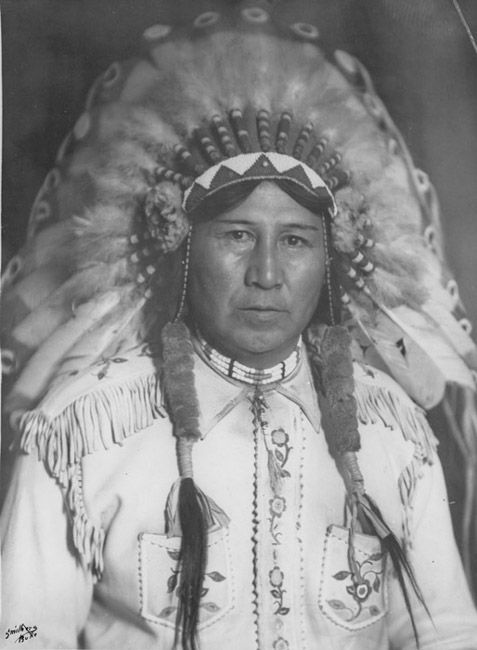 Blackfeet Amskapi Pikuni, Montana, Indian Peoples Digital Image Database Object Description