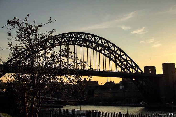 Sunset. Newcastle