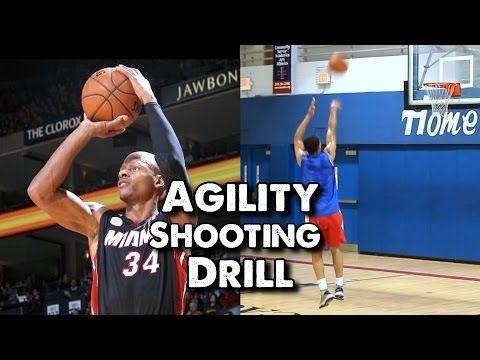 Agility Shooting Drill for Basketball - YouTube