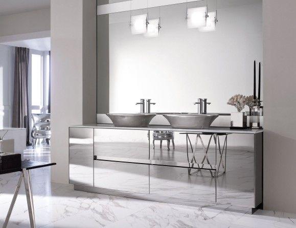 Milldue Four Seasons 17 Steel Luxury Italian Bathroom Vanities