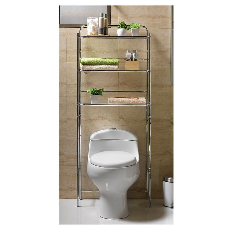 Gen rico estante 3 repisas 59x26x151 cm cromado productos for Sodimac llaves de duchas