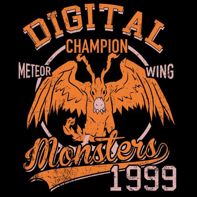 Meteor Wing T-Shirt $12.99 Digimon tee at Pop Up Tee!