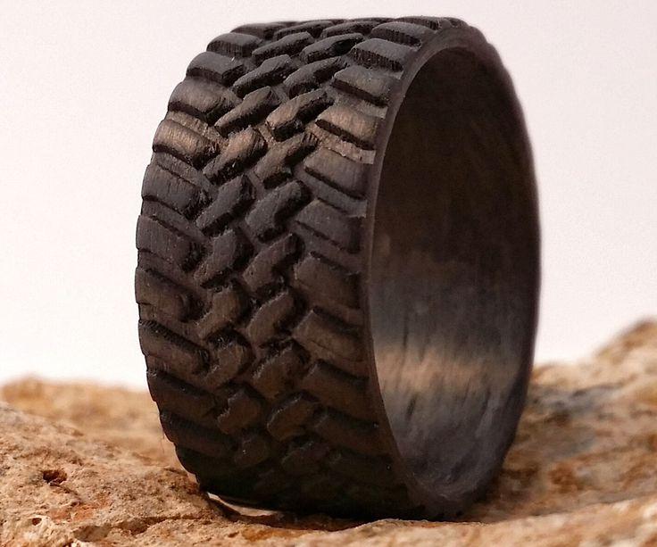 Carbon Fiber Tire Tread Rings