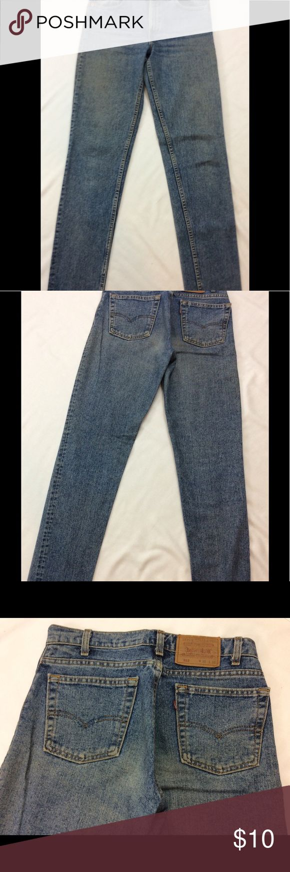 Levi's 512 women's jeans 30/36 tall! These are slimming Levi's 512, Tag reads 30/36. Very good condition, no holes rips tears etc. Levi's Jeans Straight Leg