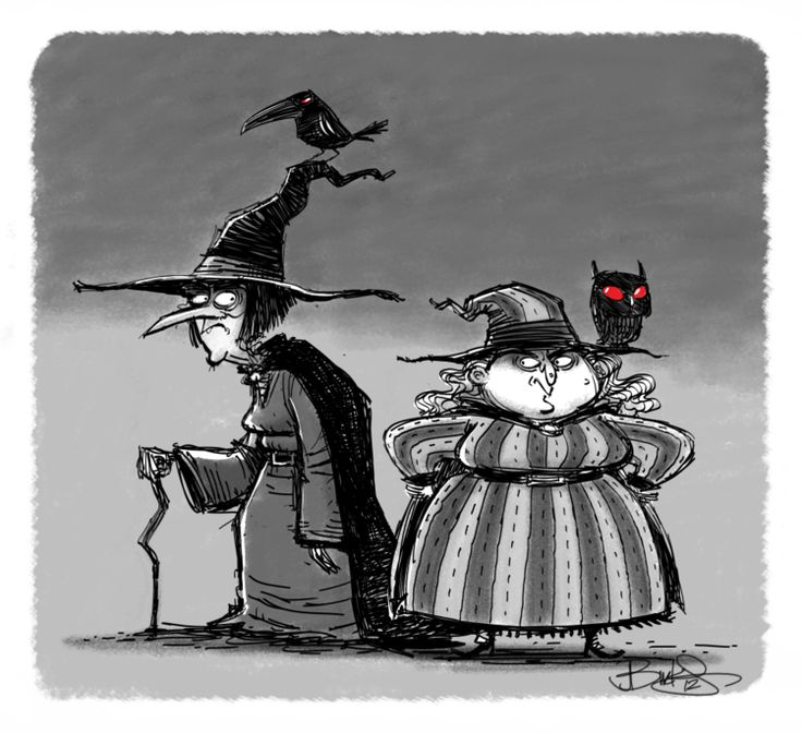 A Couple of Witches by James Burks