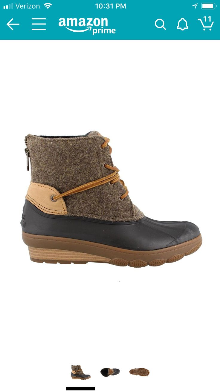 Sperry saltwater duck boots on amazon :-)