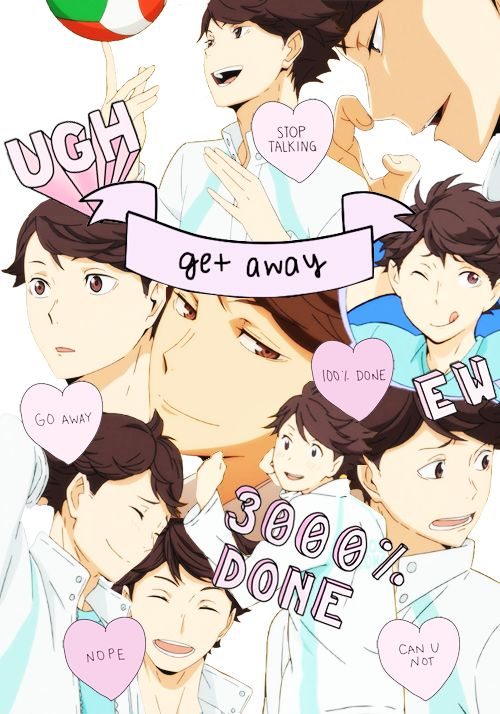 oikawa collage | via Tumblr