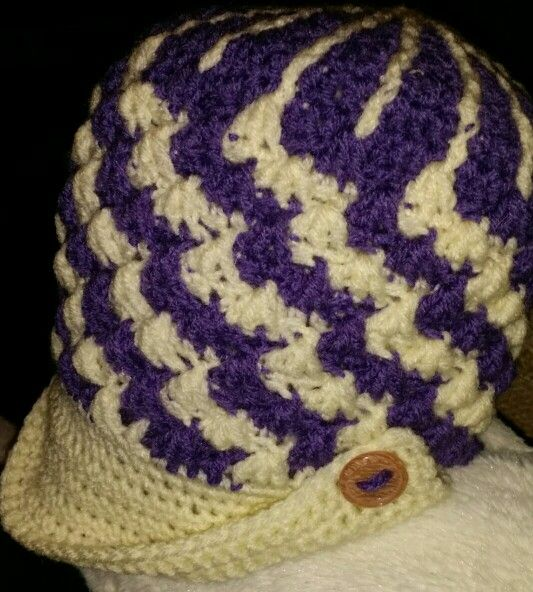Crochet hat I made