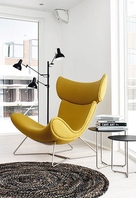 Contemporary Leather Armchair, Imola by BoConcept  | interior design, luxury furniture, home decor. More news at http://www.bocadolobo.com/en/news/