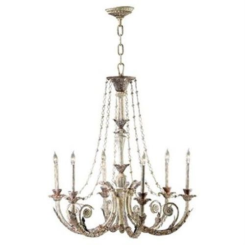 Cyan Design Six Lamp Chandelier On SALE