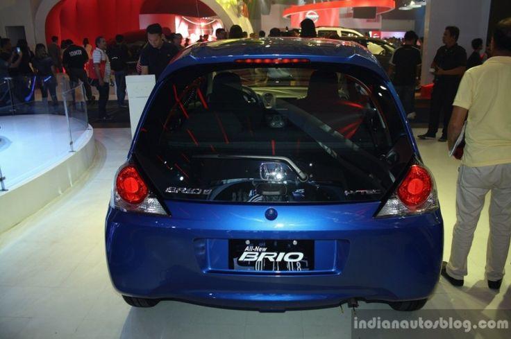 Terlihat Honda Brio Dari Belakang ~ http://iotomagz.net/honda-brio-akan-keluarkan-generasi-ke-duanya-dengan-3-silinder/