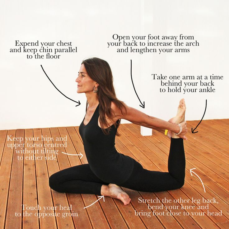 One Legged Pigeon Pose | Michaela Olexova | Prana Yoga | www.michaelaolexova.com