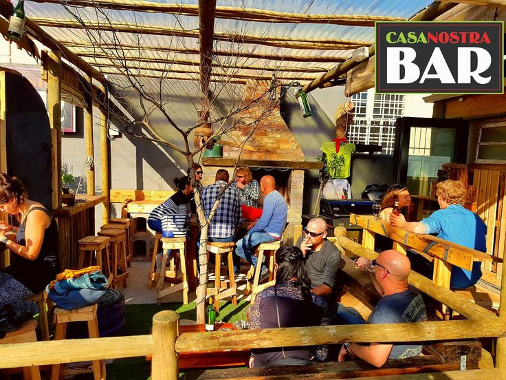 And Bob us your Uncle... @casanostraCPT #new #Casa #Bar #Casa #woodstock #diyCasa Opposite #BiscuitMill #CasaLove...#bardesign