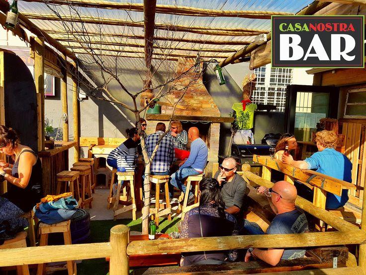 And Bob us your Uncle... @casanostraCPT #new #Casa #Bar #Casa #woodstock #diyCasa Opposite #BiscuitMill #CasaLove...#bardesign