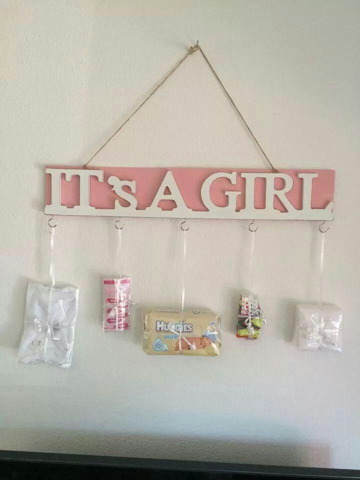 Cadeau bij geboorte meisje (van de action)