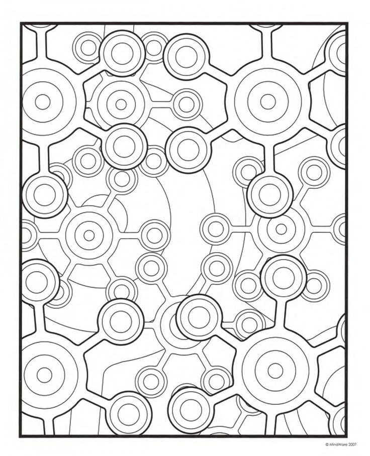 pattern coloring pages for teens - photo#15