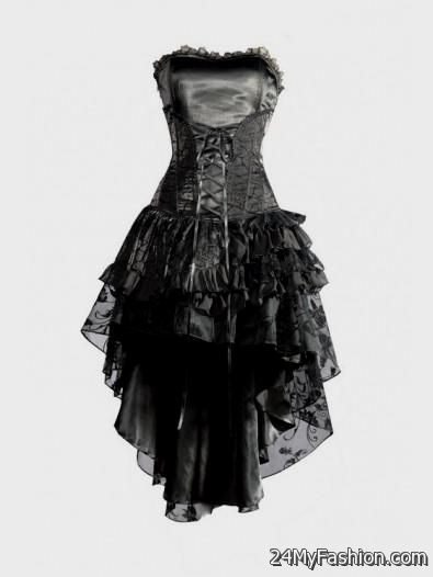 Awesome gothic corset dresses 2017-2018