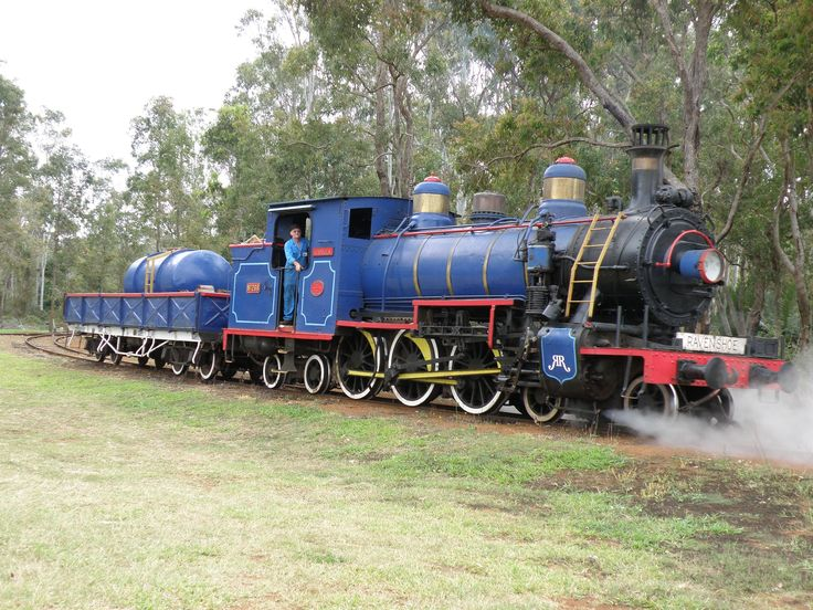 Ravenshoe Heritage Steam Railway, Queensland.