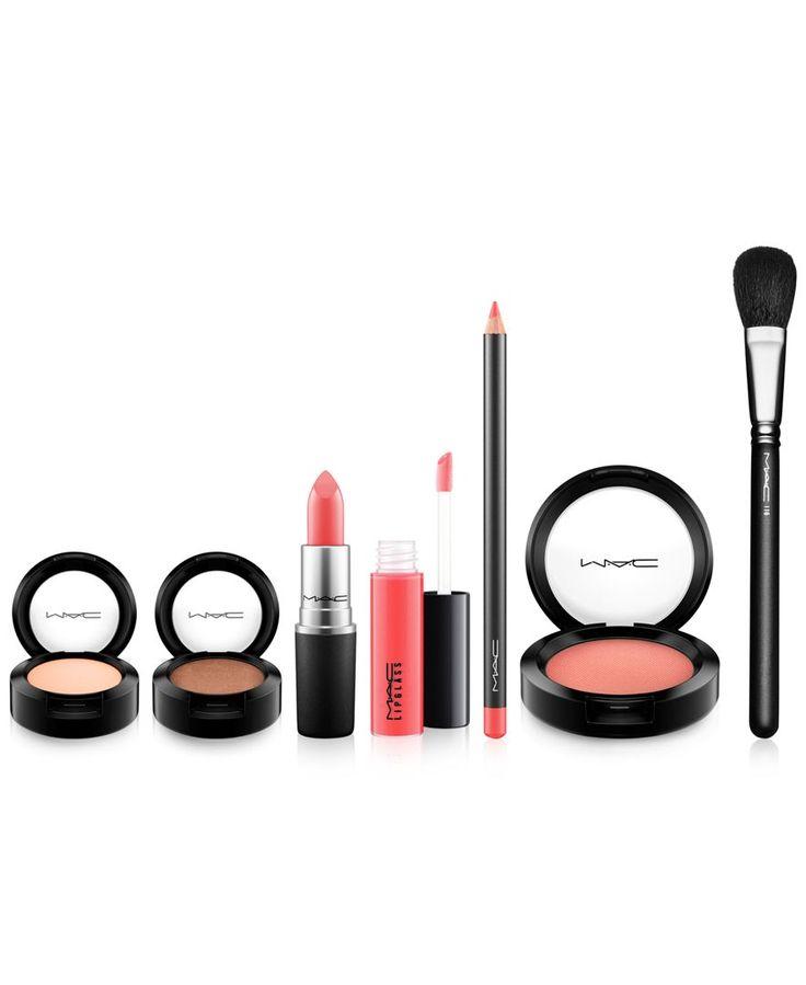 Mac Look In A Box Sun Siren Mac Looks Beauty Gift Sets Mocha Lipstick