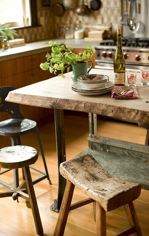 Rustic Home kitchen - italian flare