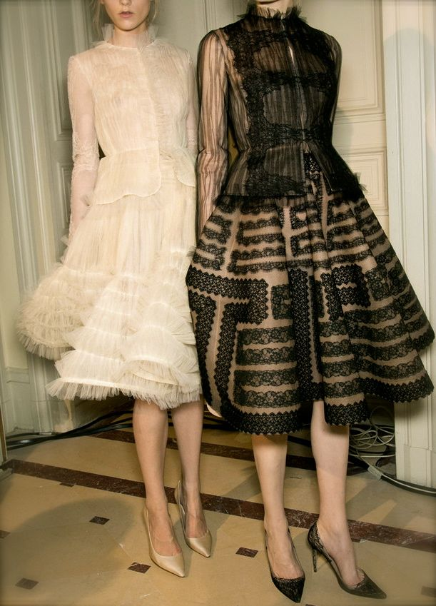 Valentino couture ss 2013 p t1 de robe de r ve for Couture de reve