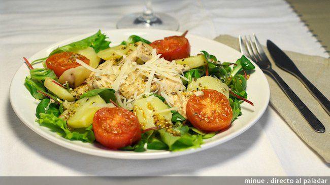 Ensalada italiana de pollo