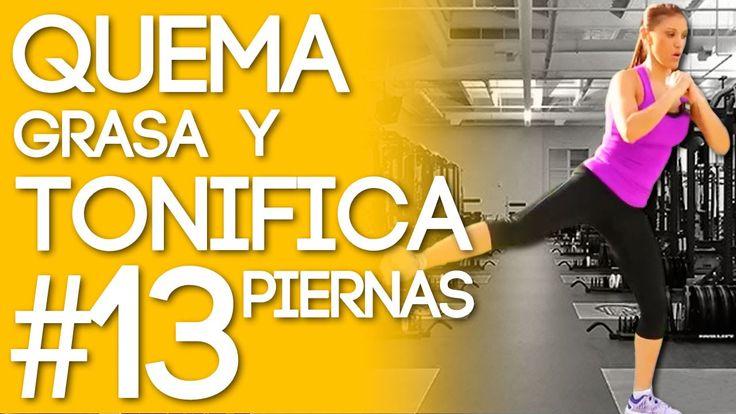 Quema Grasa y Tonifica Tus Piernas Con La Rutina #13 del Reto Quemando Y...
