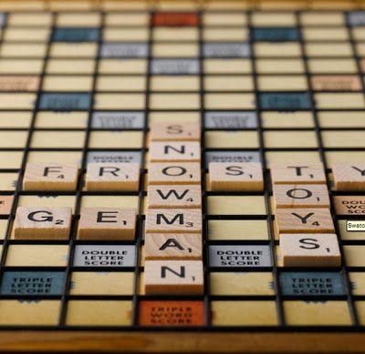 Scrabble raised grid