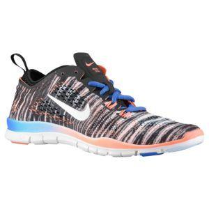 Nike Free 5.0 TR Fit 4 - Women's - Black/Hyper Cobalt/Bright Mango