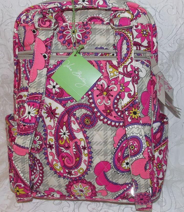 Vera Bradley Paisley Meets Plaid Petite Backpack 10620-128 Multicolor BIN $49 #VeraBradley #Backpack