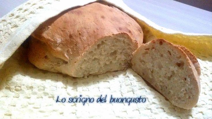 FILONE DI PANE VELOCE SENZA IMPASTO  https://loscrignodelbuongusto.altervista.org/filone-di-pane-veloce-senza-impasto/ #pane #senzaimpasto #veloce #Food #cucina #ricette #Cucinare #foodblogger