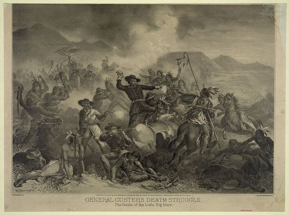 c.1860s American Civil War General Custer The by InterestingPhotos, $6.95