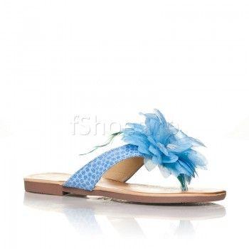 Papuci Penna - Bleu