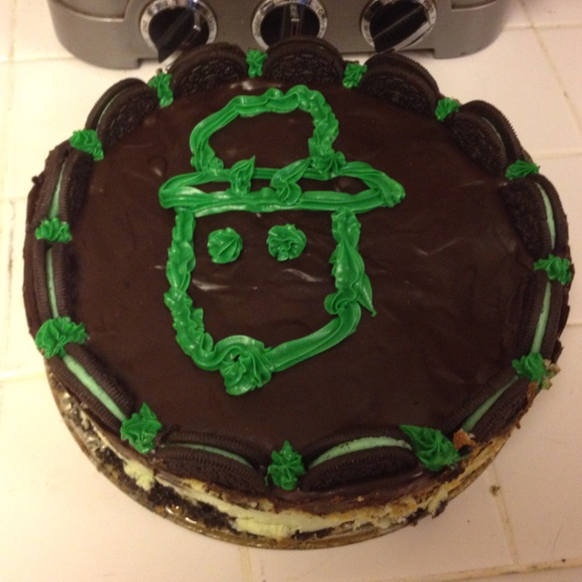 "Alabama leprechaun cake! ""who all seen the leprechaun say yeah!"""