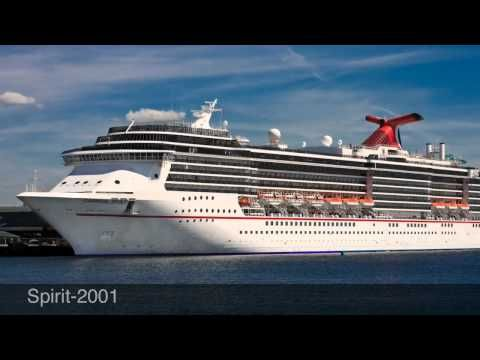 "Carnival Cruise Lines ""Fun Ships"" - Videography of Carnival Cruise Ships, past to present..."