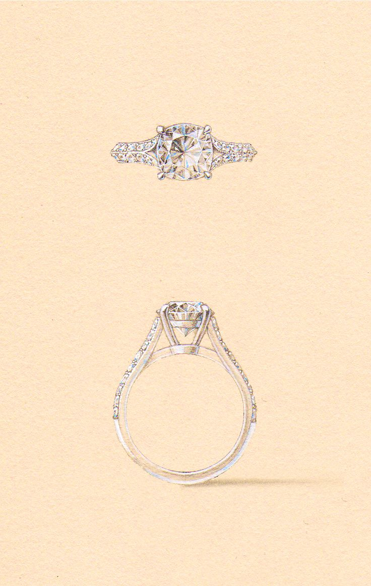 The Xaniar Setting. Naveya & Sloane engagement ring, made to order in Auckland, New Zealand.