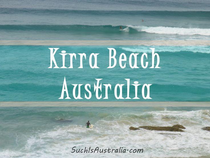 Kirra Beach Australia On Australia's beautiful Gold Coast is Kirra Beach, we check it out in this travel blog post!  www.SuchIsAustralia.com