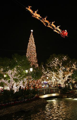 The Grove at Christmas time…  We love this time of year.  Every night we walk over at ten to 7pm.  Snow starts at 7pm and then we ride the trolley to Farmer's Market and back.  Best times are weeknights when it's not crowded <3