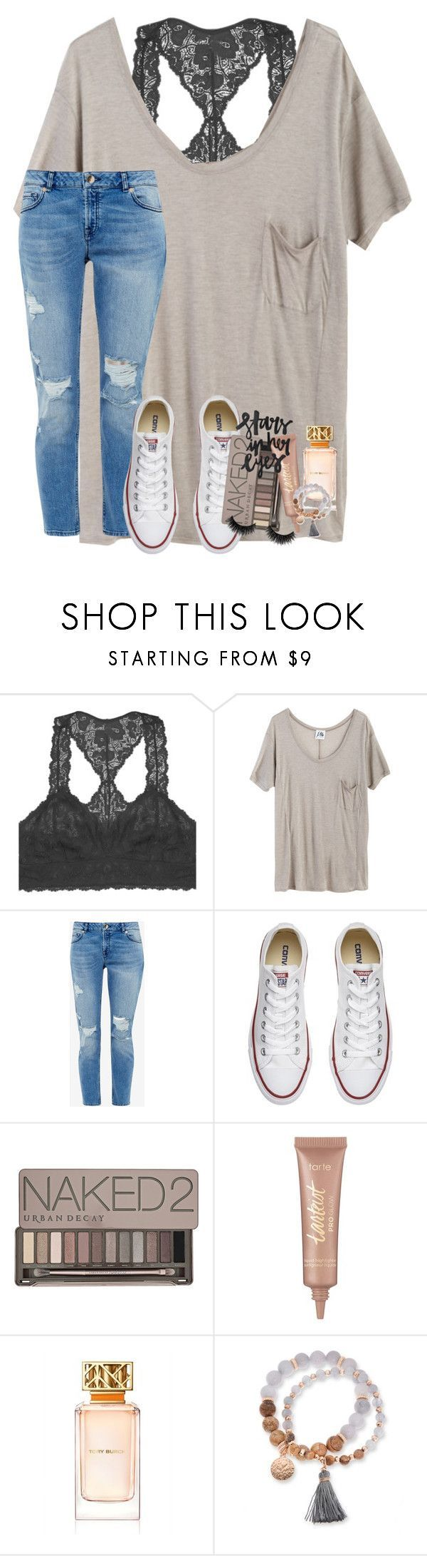 """ben platt"" by lindsaygreys ❤ liked on Polyvore featuring Youmita, Mlle Mademoiselle, Ted Baker, Converse, Urban Decay, tarte, Tory Burch and Kim Rogers"