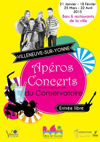 Les apéros - concerts du Conservatoire Municipal Romain Didier
