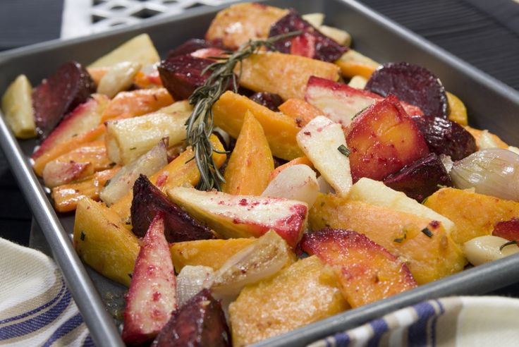 Oven-Roasted Root Vegetables | Vegetable dishes | Pinterest
