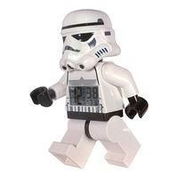 LEGO-COMPUTERS AND SOFTWARE-Electronic Gadgets-LEGO Star Wars Stormtrooper alarm clock-£19.99-76 Advantage card points. With LEGO's Star Wars Stormtrooper clock you can have a menacing Stormtrooper keeping watch while you sleep. Then he will drag you from your slumbers in the morning. FREE Delivery on orders over 45 GBP.